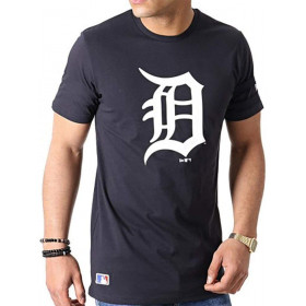 Men's New Era Team logo t-shirt MLB Detroit Tigers Navy