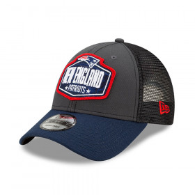 Casquette NFL New England Patriots New Era NFL21 Draft 9forty Noir