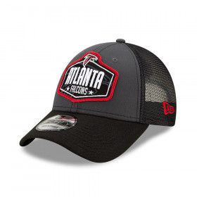 Casquette NFL Atlanta Falcons New Era NFL21 Draft 9forty Noir