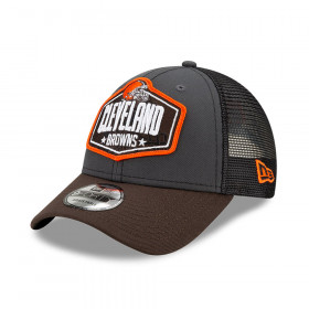 Casquette NFL Cleveland Browns New Era NFL21 Draft 9forty Noir