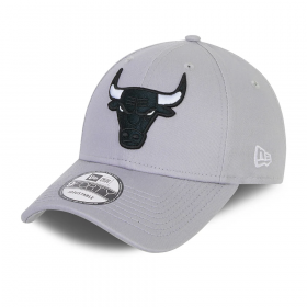 Casquette NBA Chicago Bulls New Era Grayscale 9Forty Gris