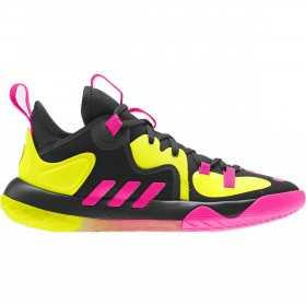 Chaussure de Basketball adidas James Harden Stepback 2 Noir YLW pour Junior