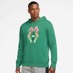 Sweat à capuche Jordan Sport DNA HBR Vert pour homme