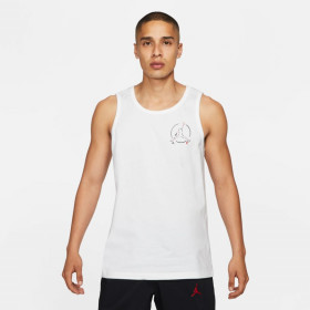 Débardeur Jordan Brand Jumpman air Blanc pour homme