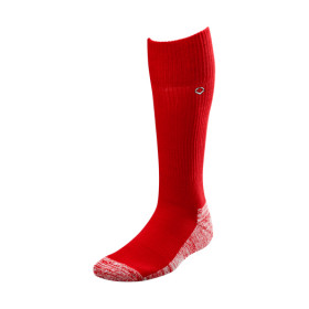 Chaussettes montante Evoshield Solid Rouge