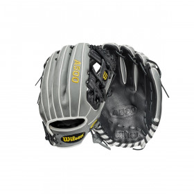 """Youth's Wilson A500 2021 Infield 11"""" grey Baseball Gloves"""