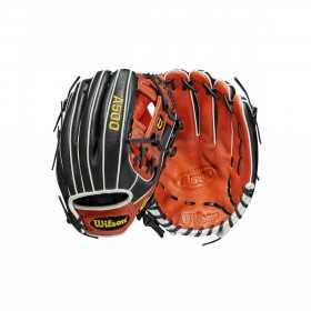 """Gant de Baseball Wilson A500 2021 Infield 11.5"""" Noir Pour enfant"""
