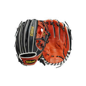 "Youth's Wilson A500 2021 Infield 11.5"" Black Baseball Glove"