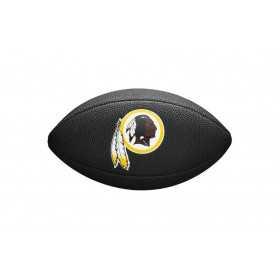 Mini ballon de Football Américain Wilson NFL team logo Noir Washington RedSkins
