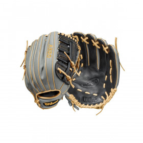 """Youth's Wilson A500 2021 Outfiled 12,5"""" Grey Baseball Glove"""