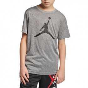 T-shirt Jordan Big Logo gris Pour Enfant