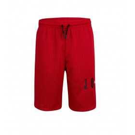 Kid's Jordan Mesh Air logo Short Red