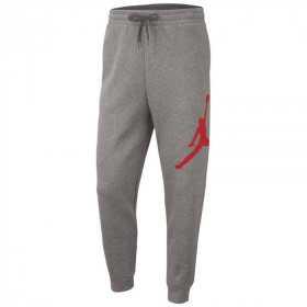 Pantalon Jordan Jumpman logo Gris pour enfant