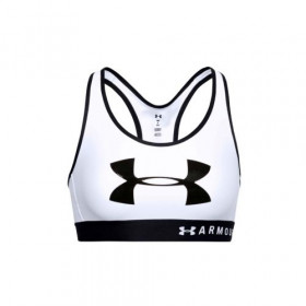 Under Armour Mid Keyhole Graphic White