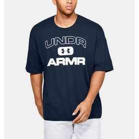 T-shirt Under Armour Moments Bleu marine pour Homme