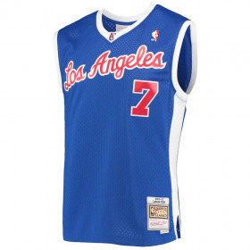 Maillot NBA Lamar Odom Los Angeles Clippers 2002-03 Mitchell & ness Hardwood Classics swingman Bleu