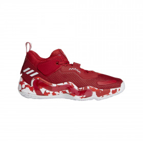 Chaussure de Basketball adidas D.O.N. Issue 3  Rouge pour homme