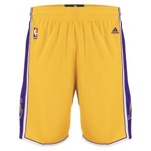 adidas NBA Swingman Short Lakers