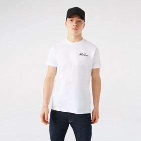 T-Shirt New Era Basketball Graphic Blanc pour Homme