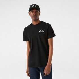 Men's New Era Basketball Graphic t-shirt Black
