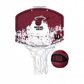 Mini panier de Basket NBA Miami Heat Wilson Team