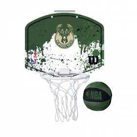 Mini panier de Basket NBA Milwaukee Bucks Wilson Team