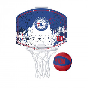 Mini panier de Basket NBA Philadelphia 76ers Wilson Team