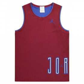 Maillot reversible Jordan Sport DNA Rouge pour homme