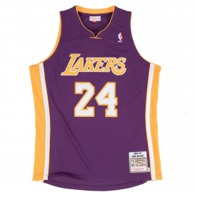 Maillot NBA Authentique Kobe Bryant Los Angeles Lakers 2006-07 Mitchell & ness Violet