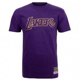 Men's Mitchell & ness Midas NBA Los Angeles Lakers t-shirt Purple