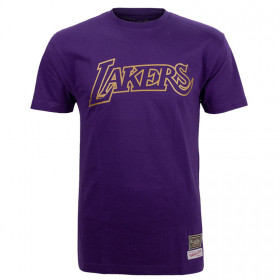 T-Shirt NBA Los Angeles Lakers Mitchell & ness Midas Violet pour Homme