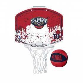 Mini panier de Basket NBA New Orleans Pelicans Wilson Team