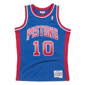 Maillot NBA Dennis Rodman Detroit Pistons 1988-89 Mitchell & ness Hardwood Classic Bleu Pour enfant