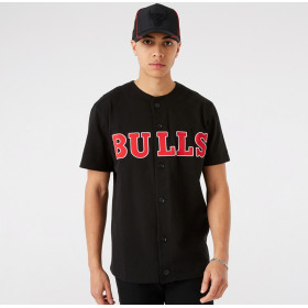 Men's New era Outdoor Utility jersey NBA Chicago Bulls Black