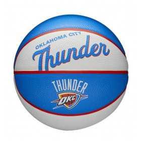 Mini Ballon de Basketball NBA Oklahoma city thunder Wilson Team Retro Exterieur