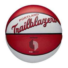 Mini Ballon de Basketball NBA Portland Trail blazers Wilson Team Retro Exterieur