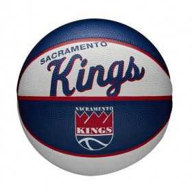 Mini Ballon de Basketball NBA Sacramento Kings Wilson Team Retro Exterieur