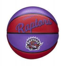 Mini Ballon de Basketball NBA Toronto Raptors Wilson Team Retro Exterieur