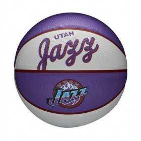 Mini Ballon de Basketball NBA Utah Jazz Wilson Team Retro Exterieur