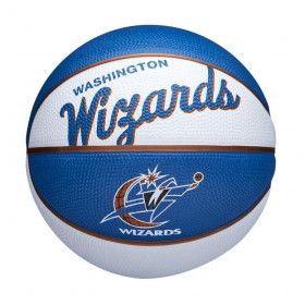 Mini Ballon de Basketball NBA Washington Wizards Wilson Team Retro Exterieur