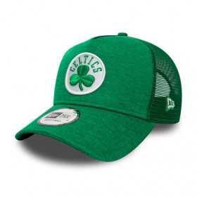 Casquette NBA Boston Celtics New Era Team Shadow Tech Trucker Vert