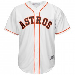 Majestic Replica Maillot Baseball Houston Astros Blanc
