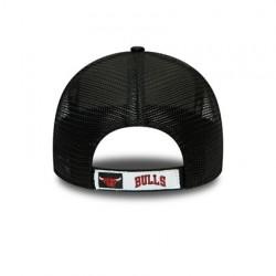 Casquette NBA Chicago Bulls New Era Home Field Trucker Noir Camo