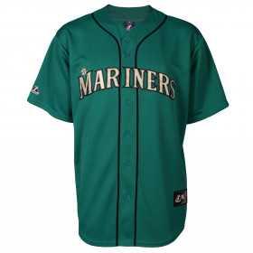 Maillot de Baseball MLB Seattle Mariners Majestic Cool Base Replica /// 7700-MVRB-MVR-RJB