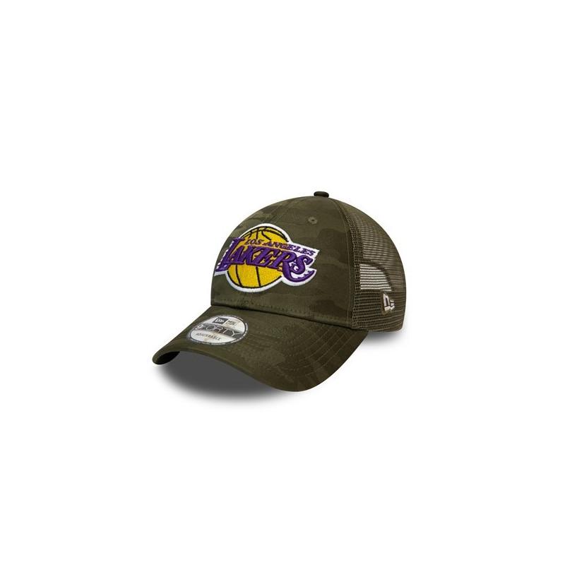 Casquette NBA Los Angeles Lakers New Era Home Field Trucker Vert
