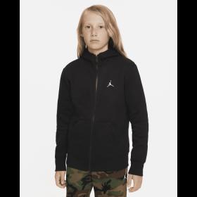 Sweat à capuche zippé Jordan Essentials Noir pour Junior