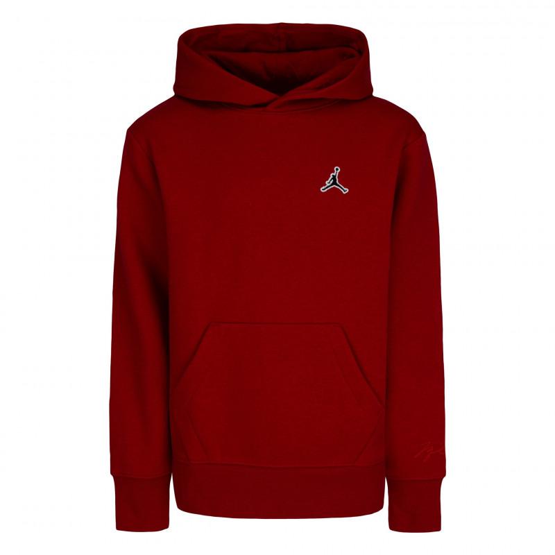 Sweat à capuche Jordan Essentials Rouge pour Junior