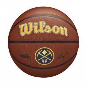 Ballon de Basketball NBA Denver Nuggets Wilson Team Alliance Exterieur