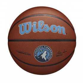 Ballon de Basketball NBA Minnesota Timberwolves Wilson Team Alliance Exterieur