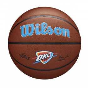 Ballon de Basketball NBA Oklahoma city thunder Wilson Team Alliance Exterieur